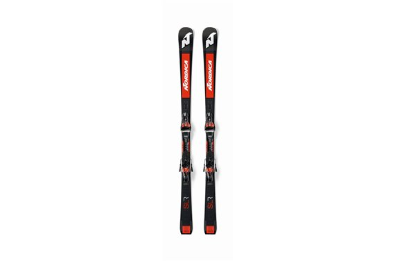NARTY + WIĄZANIA Nordica DOBERMANN SLR RB+XCELL14 BLACK/RED