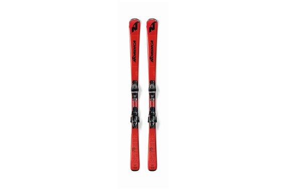 NARTY + WIĄZANIA Nordica SPITFIRE 75 FDT+TP2 COMPA RED/BLACK