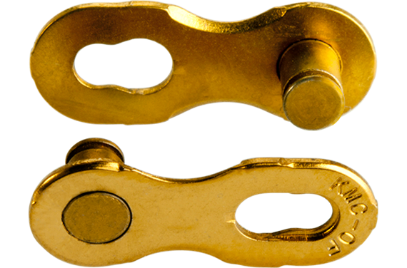 Złączka łańcucha KMC 12rz. Ti-N Gold Blister 2szt.