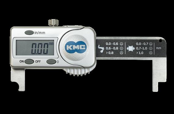 Miernik do zużycia łańcucha KMC Elektroniczny